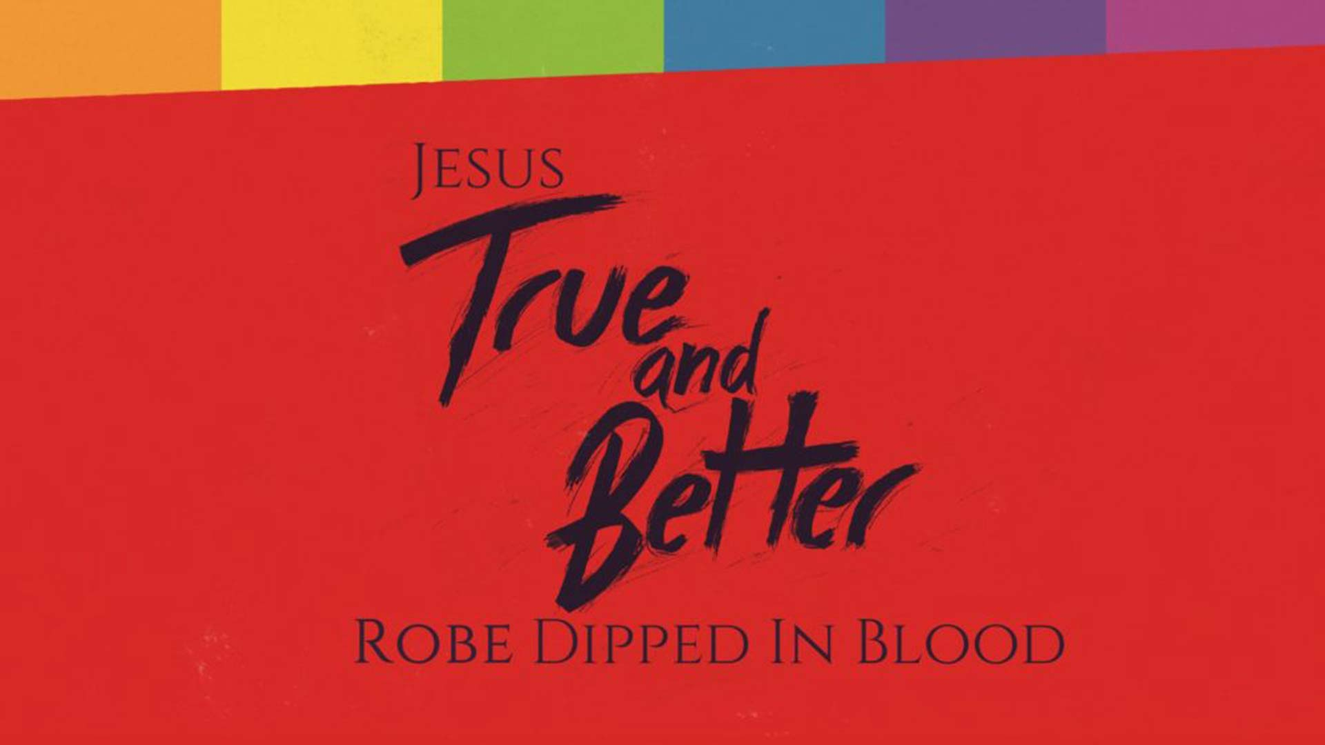 Jesus: True and Better Savior Image